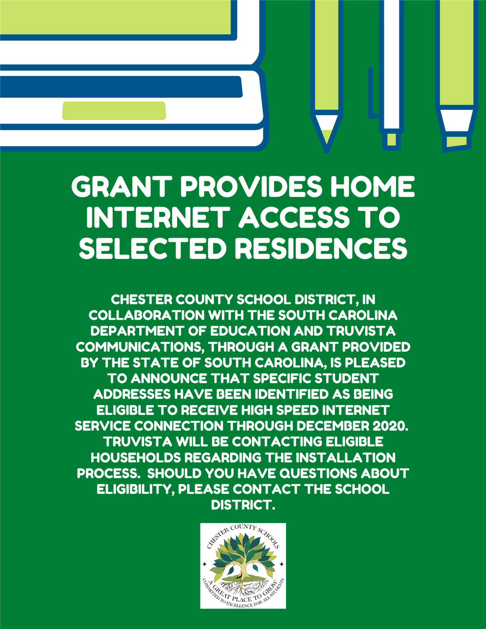 Internet Grant for Selected Residents