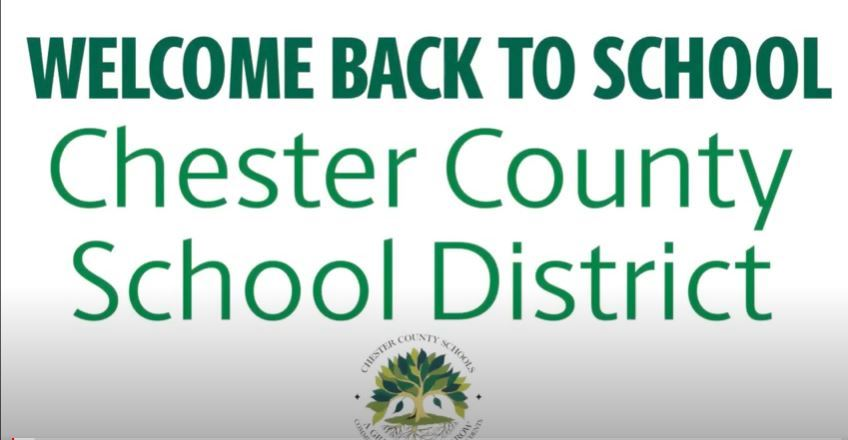 Chester County School District (CCSD) families & students, let's get excited!!!